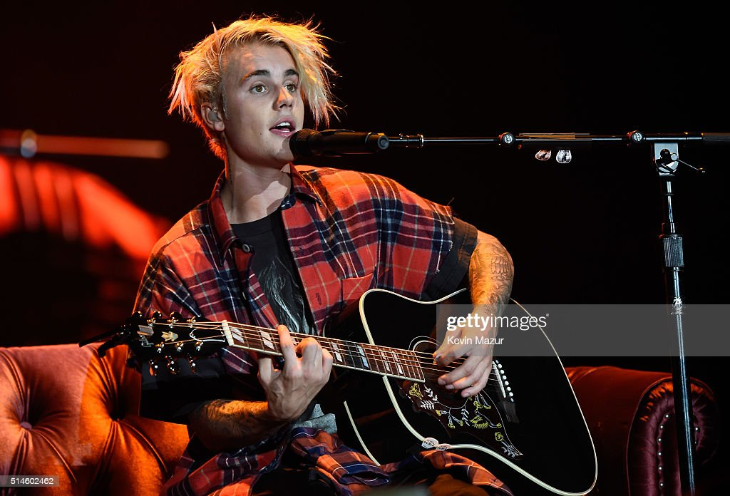 Justin Bieber In Concert - 2016 Purpose World Tour - Seattle, WA : News Photo