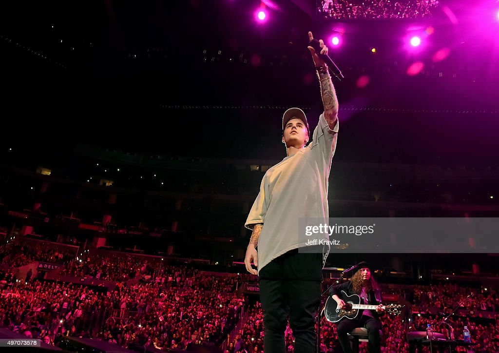 """An Evening With Justin Bieber To Celebrate The Release Of His New Album """"Purpose"""" : News Photo"""