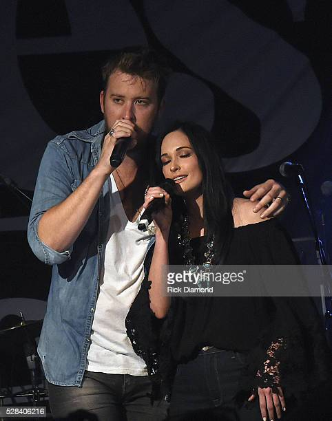 Singer/Songwriter Kacey Musgraves joins Singer/Songwriter Charles Kelley of Lady Antebellum during his Special Performance on May 4 2016 in Nashville...