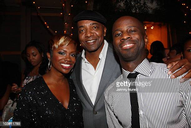 Singersongwriter Kandi Burruss producer Michael Mauldin and producer BryanMichael Cox attend the 2010 Ween Awards at the Asia Society on September 2...