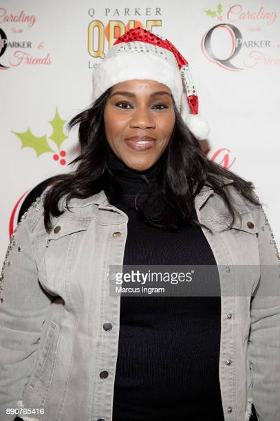 Singersongwriter Kelly Pice attends the '5th Annual Caroling with Q Parker and Friends' at Atlanta Marriott Buckhead on December 11 2017 in Atlanta...