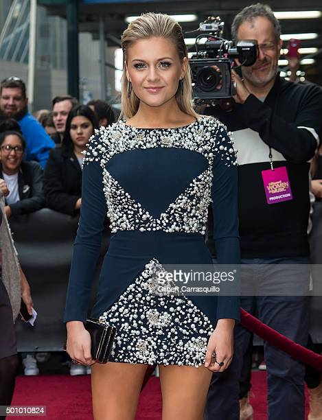 Singer-songwriter Kelsea Ballerini attends Billboard's 10th Annual Women In Music at Cipriani 42nd Street on December 11, 2015 in New York City.
