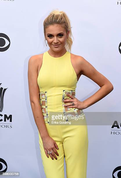 Singersongwriter Kelsea Ballerini attends the 10th Annual ACM Honors at the Ryman Auditorium on August 30 2016 in Nashville Tennessee