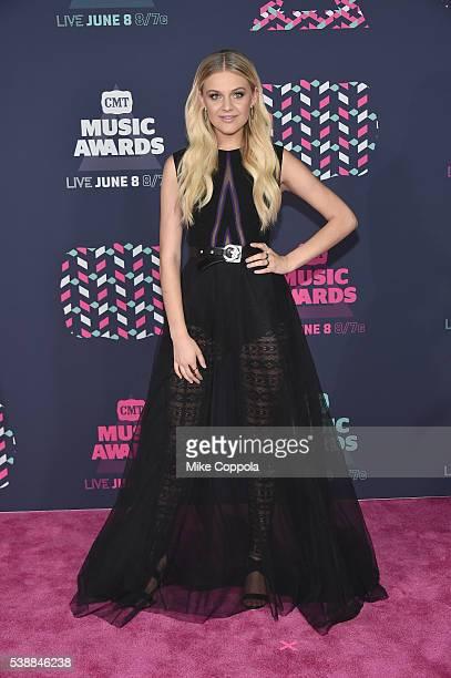 Singersongwriter Kelsea Ballerini attends the 2016 CMT Music awards at the Bridgestone Arena on June 8 2016 in Nashville Tennessee