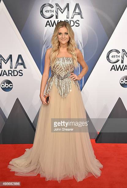 Singersongwriter Kelsea Ballerini attends the 49th annual CMA Awards at the Bridgestone Arena on November 4 2015 in Nashville Tennessee