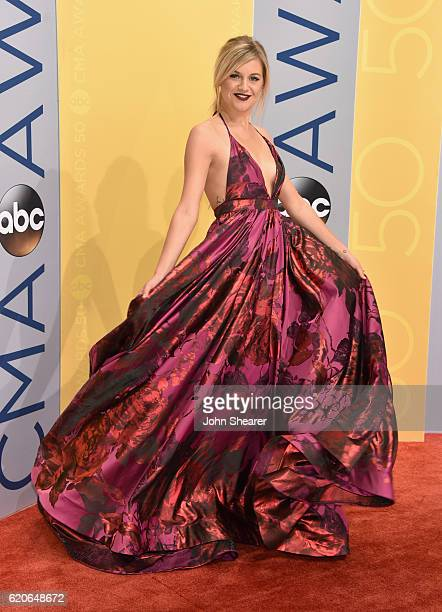Singersongwriter Kelsea Ballerini attends the 50th annual CMA Awards at the Bridgestone Arena on November 2 2016 in Nashville Tennessee