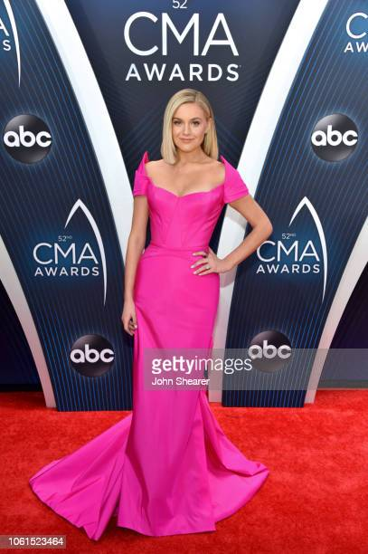 Singersongwriter Kelsea Ballerini attends the 52nd annual CMA Awards at the Bridgestone Arena on November 14 2018 in Nashville Tennessee