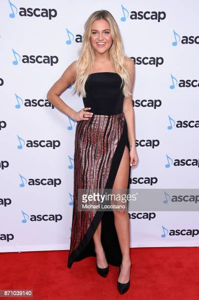 Singersongwriter Kelsea Ballerini attends the 55th annual ASCAP Country Music awards at the Ryman Auditorium on November 6 2017 in Nashville Tennessee