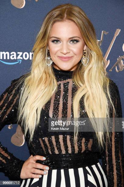 Singersongwriter Kelsea Ballerini attends the Amazon Music Unboxing Prime Day event on July 11 2018 in Brooklyn New York