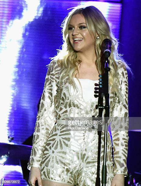 Singer/Songwriter Kelsea Ballerini performs at CRS New Faces during CRS 2016 Day 3 at The Omni Hotel on February 10 2016 in Nashville Tennessee