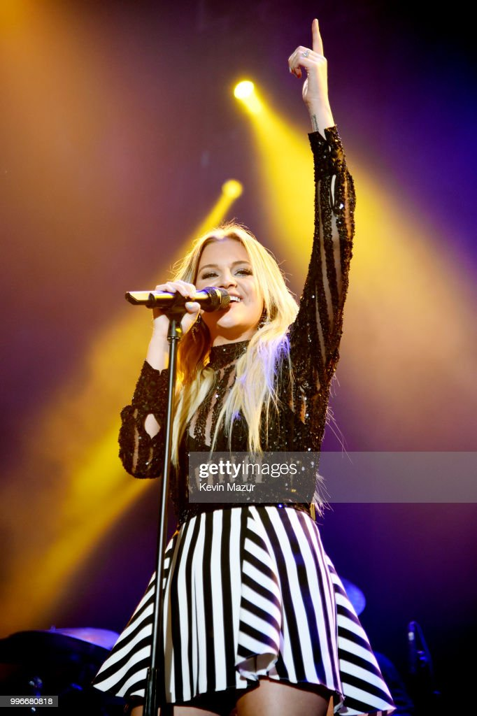 Singer-songwriter Kelsea Ballerini performs onstage at the Amazon Music Unboxing Prime Day event on July 11, 2018 in Brooklyn, New York.