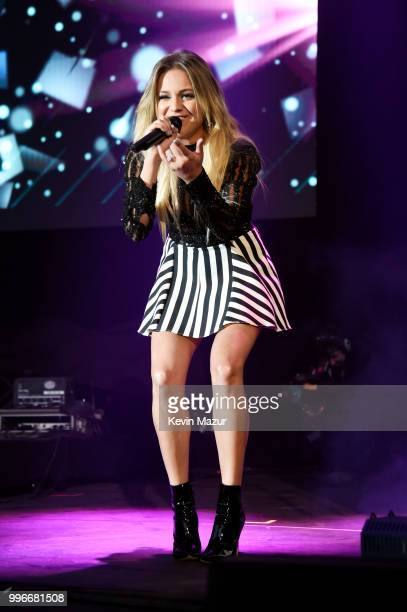Singersongwriter Kelsea Ballerini performs onstage at the Amazon Music Unboxing Prime Day event on July 11 2018 in Brooklyn New York