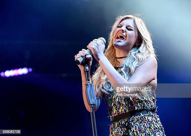 Singersongwriter Kelsea Ballerini performs onstage during 2016 CMA Festival Day 1 at Nissan Stadium on June 9 2016 in Nashville Tennessee