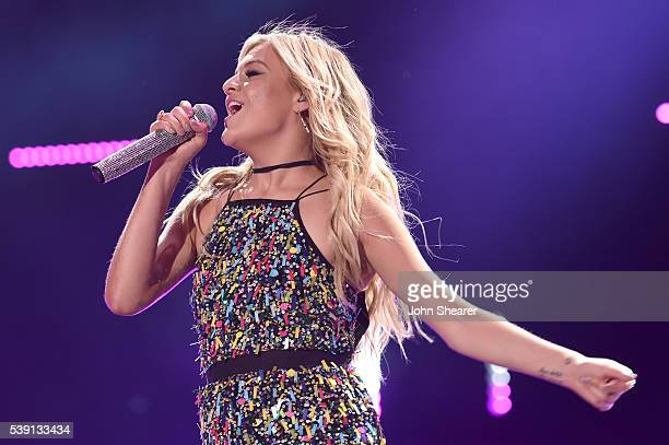 Singer-songwriter Kelsea Ballerini performs onstage during 2016 CMA Festival - Day 1 at Nissan Stadium on June 9, 2016 in Nashville, Tennessee.