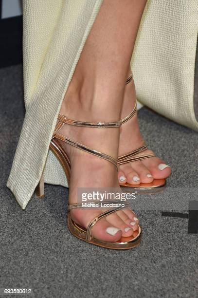 Singersongwriter Kelsea Ballerini shoe detail attends the 2017 CMT Music Awards at the Music City Center on June 7 2017 in Nashville Tennessee