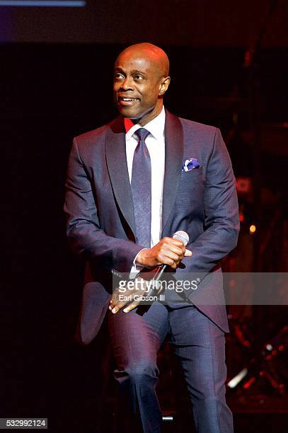 Singer/songwriter Kem performs at the 12th Annual MusicCares MAP Fund Tribute Concert at The Novo by Microsoft on May 19 2016 in Los Angeles...