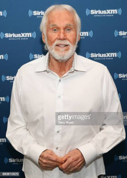 Singersongwriter Kenny Rogers attends SiriusXM's 'Town Hall' With Kenny Rogers at SiriusXM's Music City Theatre on June 8 2017 in Nashville Tennesse