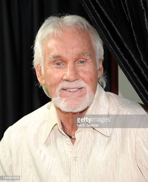 Singer/songwriter Kenny Rogers visits the SiriusXM Studios on October 4 2012 in New York City
