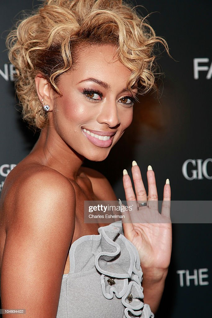 Singer/songwriter Keri Hilson attends Giorgio Armani & The Cinema Society's screening of 'Fair Game' at The Museum of Modern Art on October 6, 2010 in New York City.
