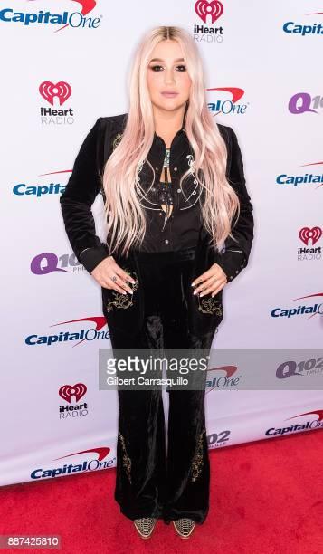 Singersongwriter Kesha attends Q102's Jingle Ball 2017 Presented by Capital One at Wells Fargo Center on December 6 2017 in Philadelphia Pennsylvania