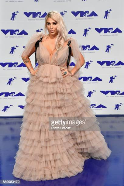 Singersongwriter Kesha attends the 2017 MTV Video Music Awards at The Forum on August 27 2017 in Inglewood California