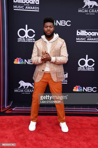 Singer/songwriter Khalid attends the 2018 Billboard Music Awards 2018 at the MGM Grand Resort International on May 20 in Las Vegas, Nevada.