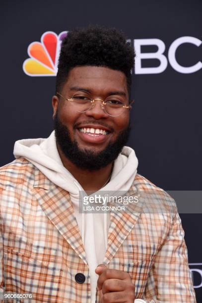 Singer/songwriter Khalid attends the 2018 Billboard Music Awards 2018 at the MGM Grand Resort International on May 20 in Las Vegas Nevada