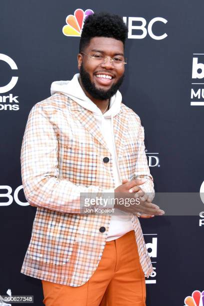 Singer-songwriter Khalid attends the 2018 Billboard Music Awards at MGM Grand Garden Arena on May 20, 2018 in Las Vegas, Nevada.