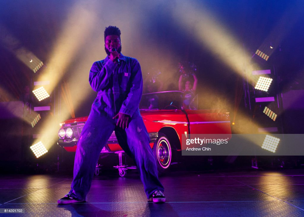 Khalid Performs At PNE Forum : News Photo