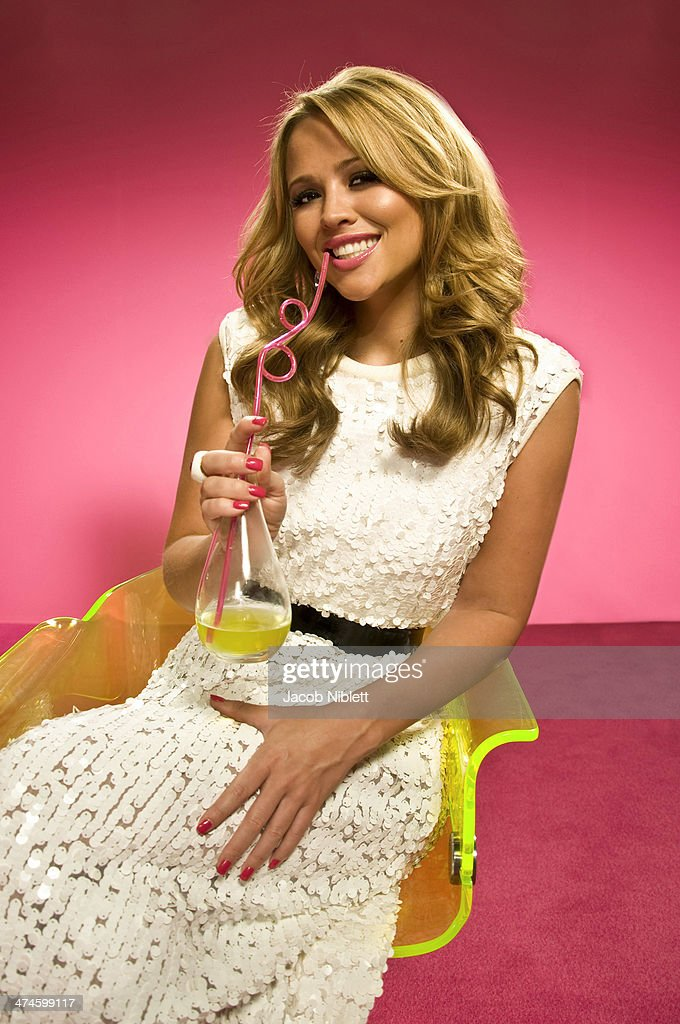 Singer-songwriter Kimberley Walsh is photographed for Event magazine in London, England.