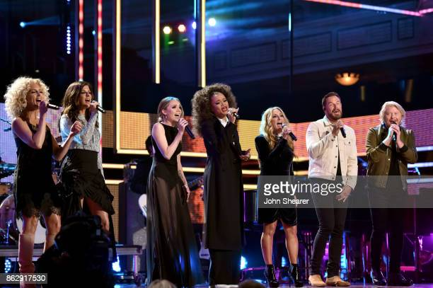 Singersongwriter Kimberly Schlapman and Karen Fairchild of Little Big Town Danielle Bradbery Andra Day Lee Ann Womack Jimi Westbrook and Philip Sweet...