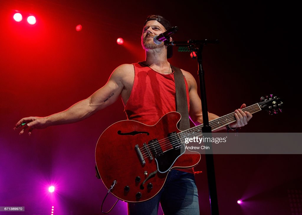 Kip Moore Performs At Abbotsford Centre