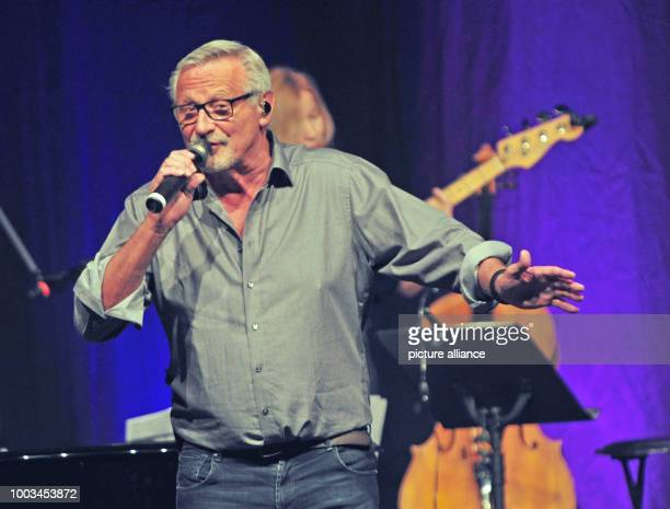 Singersongwriter Konstantin Wecker sings during his birthday concert at Circus Krone in Munich Germany 01 June 2017 Wecker celebrated his 70th...