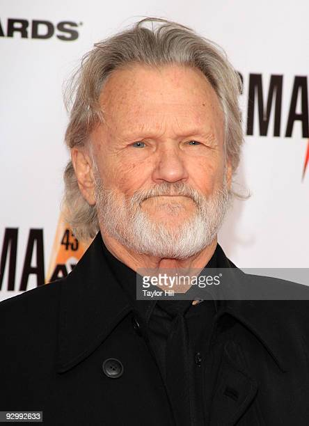 Singer/songwriter Kris Kristofferson attends the 43rd Annual CMA Awards at the Sommet Center on November 11 2009 in Nashville Tennessee