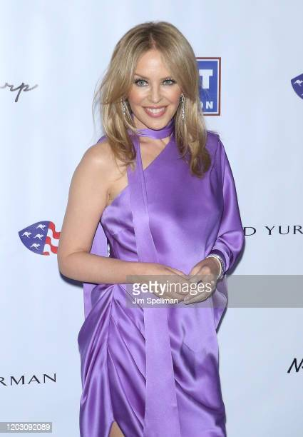 Singer/songwriter Kylie Minogue attends the 2020 AAA Arts Awards at Skylight Modern on January 30 2020 in New York City