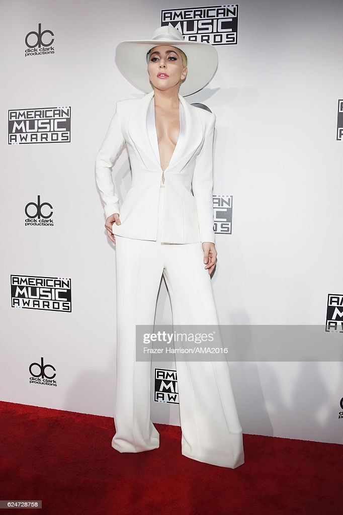 Singer-songwriter Lady Gaga attends the 2016 American Music Awards at Microsoft Theater on November 20, 2016 in Los Angeles, California.
