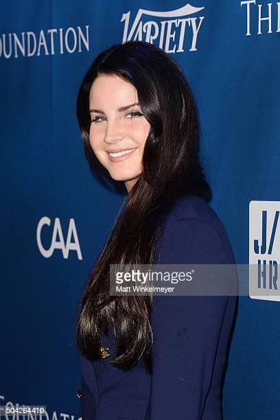 Singersongwriter Lana Del Rey arrives at the 5th Annual Sean Penn Friends HELP HAITI HOME Gala benefiting J/P Haitian Relief Organization at Montage...