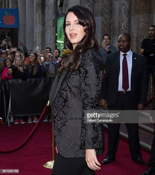 Singer-songwriter Lana Del Rey attends Billboard's 10th Annual Women In Music at Cipriani 42nd Street on December 11, 2015 in New York City.