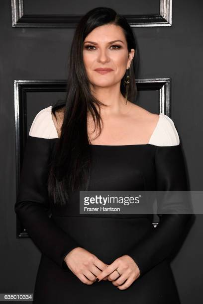 Singersongwriter Laura Pausini attends The 59th GRAMMY Awards at STAPLES Center on February 12 2017 in Los Angeles California