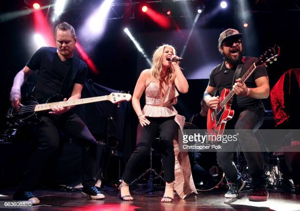 Singersongwriter Lauren Alaina performs onstage at the ACM Party For A Cause House Of Blues on April 1 2017 in Las Vegas Nevada