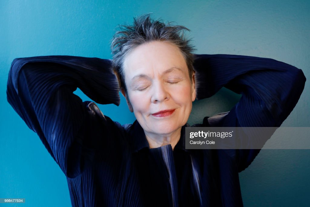 Laurie Anderson, Los Angeles Times, April 18, 2018
