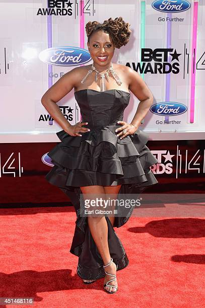 Singersongwriter Ledisi attends the BET AWARDS '14 at Nokia Theatre LA LIVE on June 29 2014 in Los Angeles California