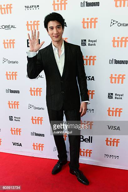 Singer/Songwriter Leehom Wang attends the 'Leehom Wang's Open Fire Concert' premiere during the 2016 Toronto International Film Festival at Princess...