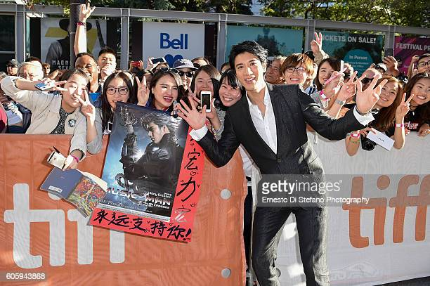 Singer/Songwriter Leehom Wang greets fans at the 'Leehom Wang's Open Fire Concert' premiere during the 2016 Toronto International Film Festival at...