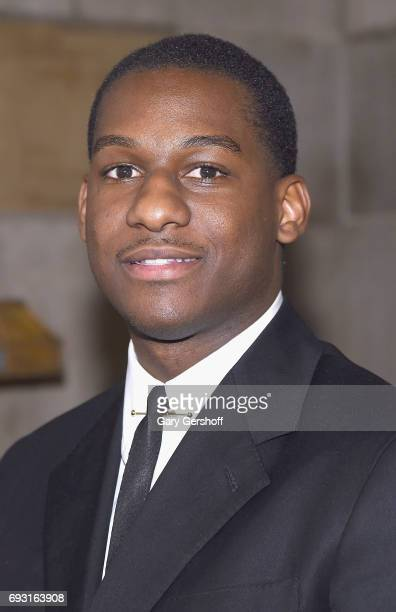 Singer/songwriter Leon Bridges attends the 2017 Gordon Parks Foundation Awards gala at Cipriani 42nd Street on June 6 2017 in New York City