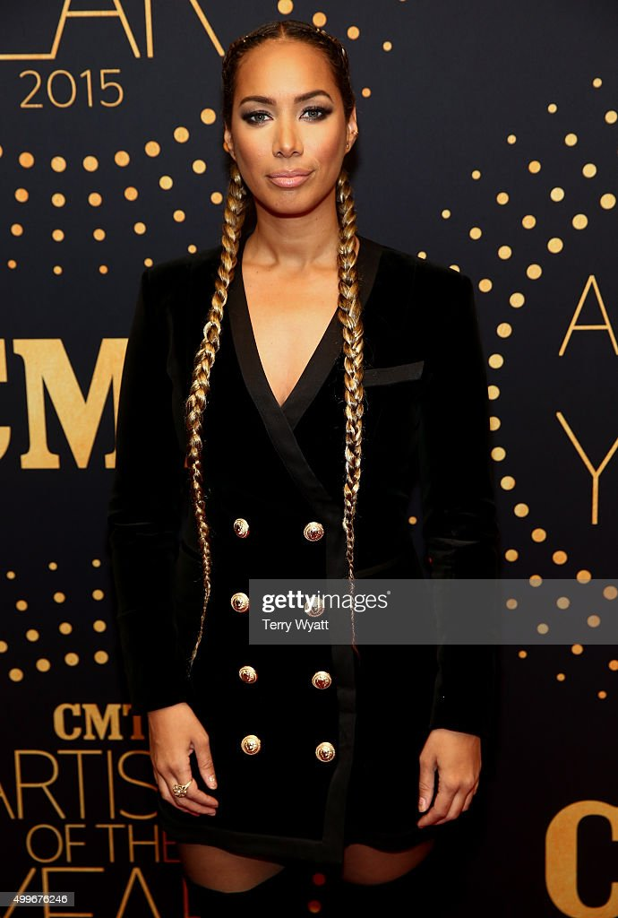 Singer-songwriter Leona Lewis attends the 2015 'CMT Artists of the Year' at Schermerhorn Symphony Center on December 2, 2015 in Nashville, Tennessee.