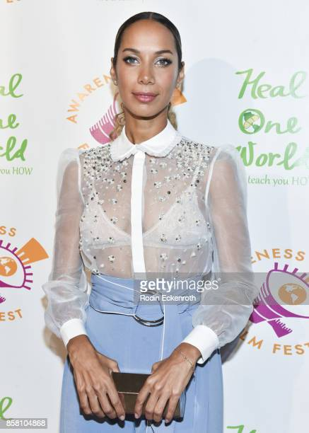 Singer/songwriter Leona Lewis attends the 2017 Awareness Film Festival Opening Night Premiere of 'The Road to Yulin and Beyond' at Regal LA Live...