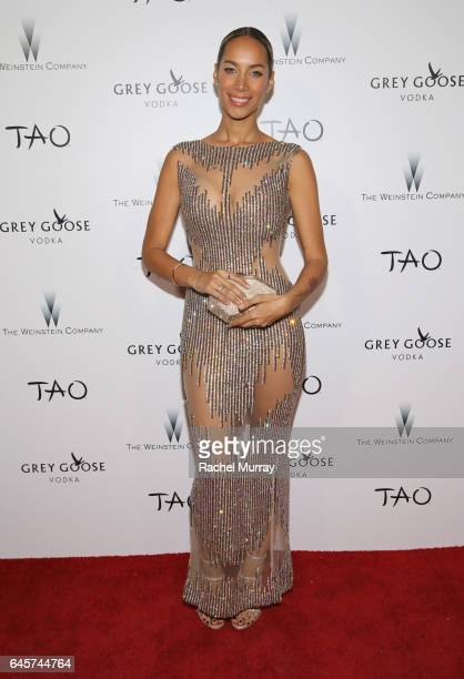 Singersongwriter Leona Lewis attends The Weinstein Company's Academy Awards viewing and after party in partnership with Grey Goose at TAO Los Angeles...