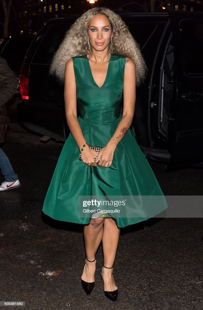 Celebrity Sightings in New York City - February 14, 2017