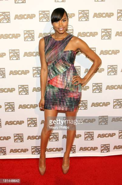Singer/songwriter Letoya Luckett arrives at the 24th Annual ASCAP Rhythm Soul Awards Honoring Sean 'Diddy' Combs at The Beverly Hilton hotel on June...